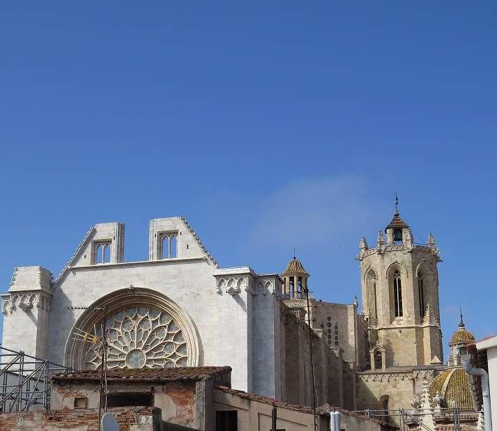 Здание напротив Кафедрального Собора в Таррагоне