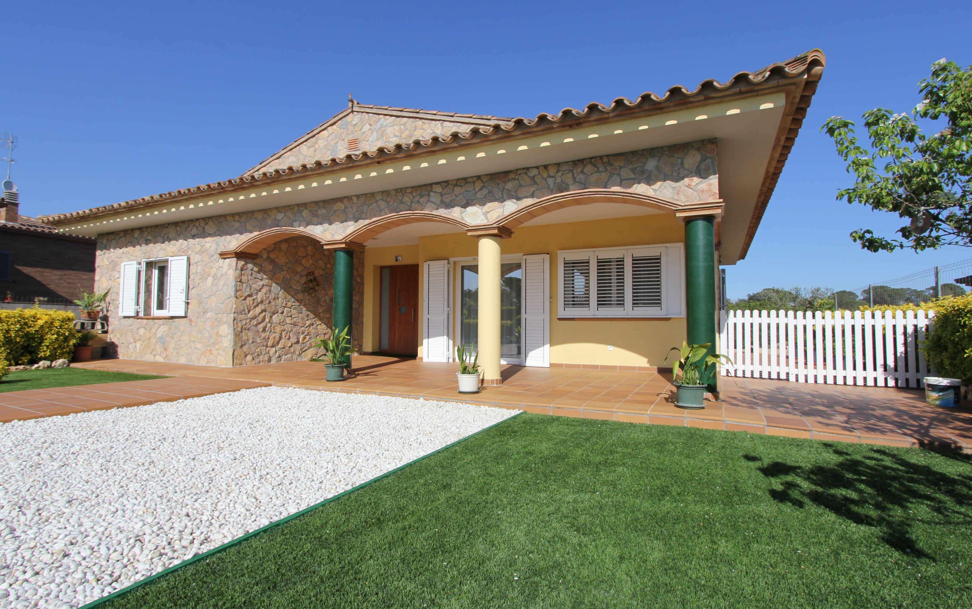 Новый дом в поселке Видререс, Жирона