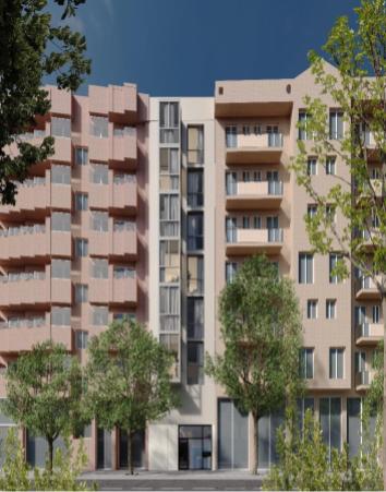 Квартира с садом в новостройке, Sant Gervasi