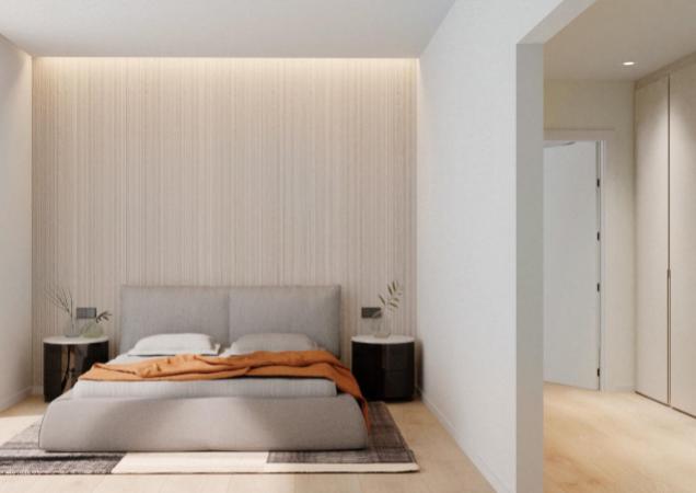 Квартира в новостройке с террасой и солярием в  Sant Gervasi