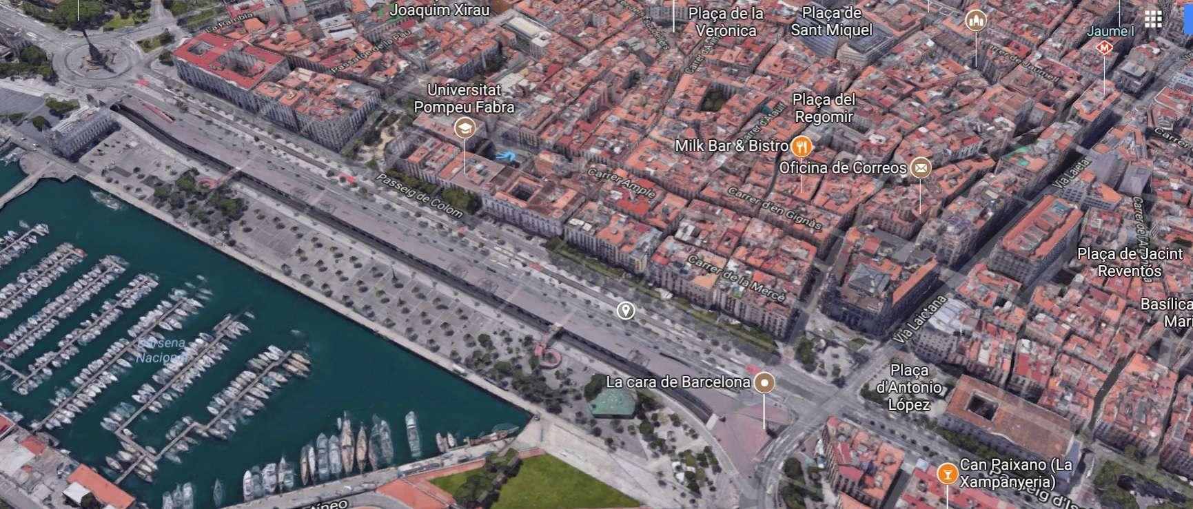 Здание в Готическом Квартале, Барселона
