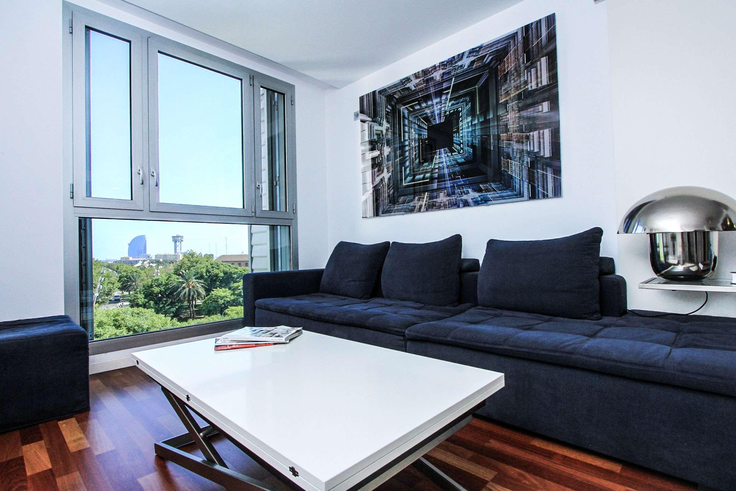 Стильная квартира в Барселонете
