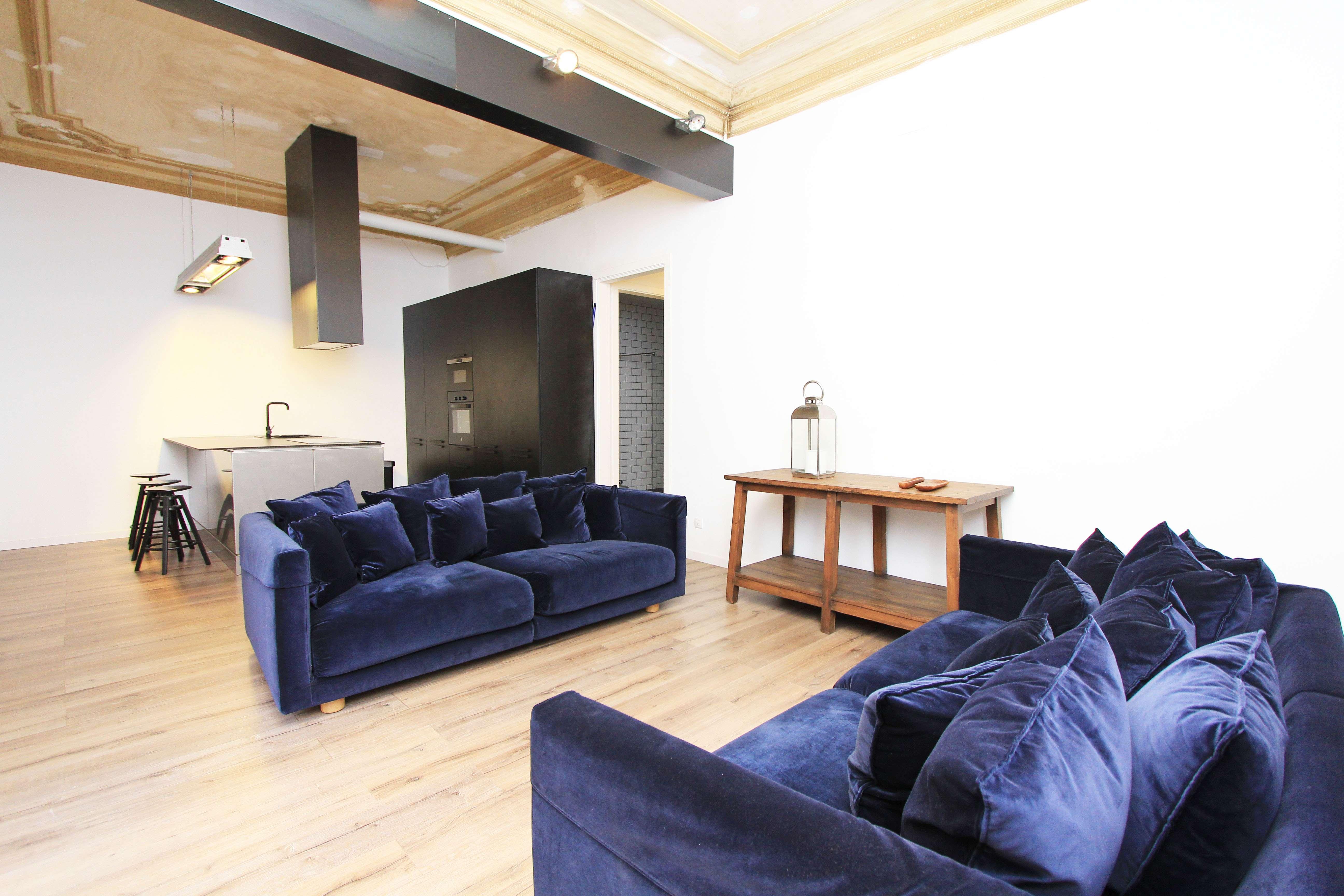 Квартира с Террасой на Виа Лайетана в Барселоне