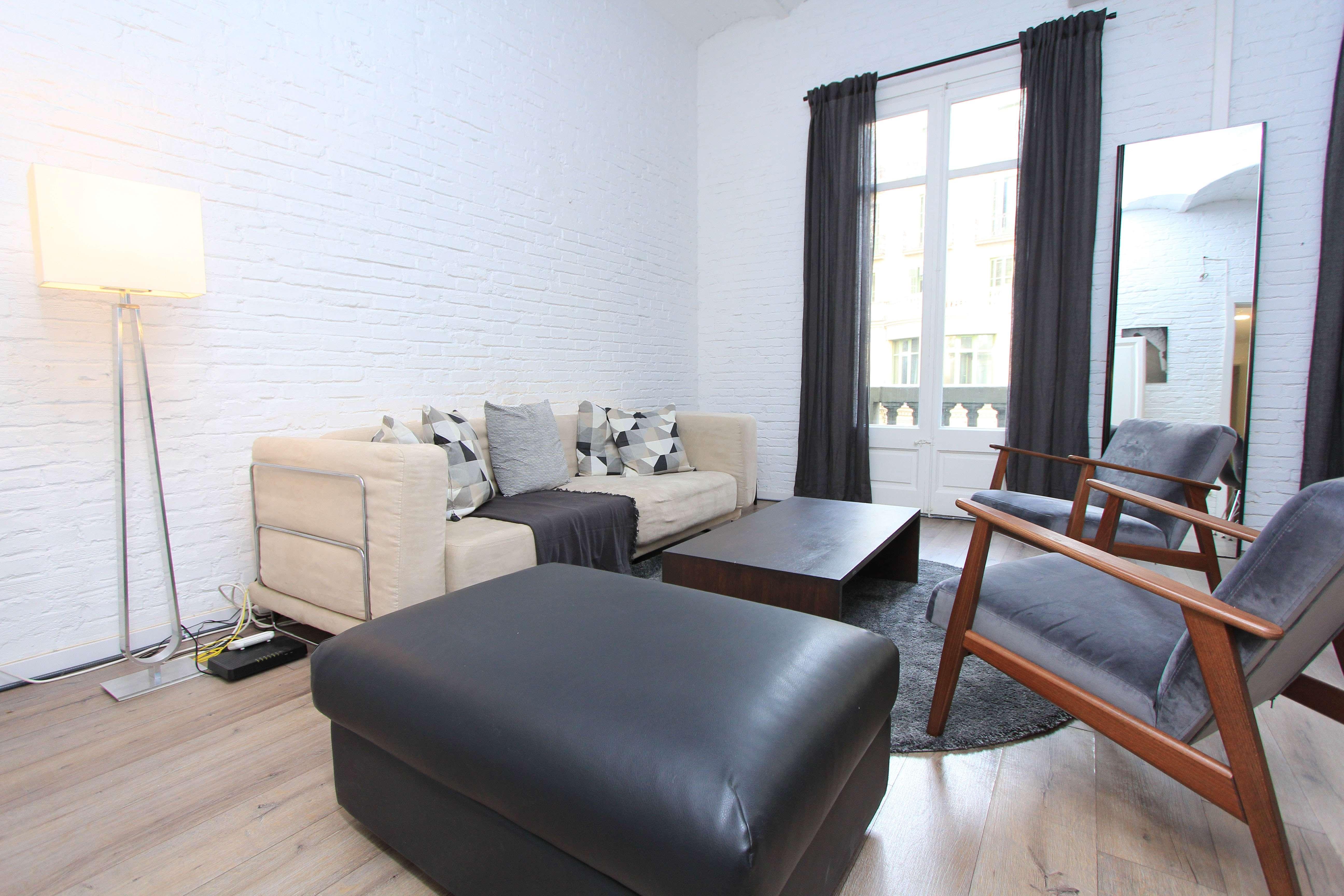 Квартира с Ремонтом в Готическом Квартале Барселоны