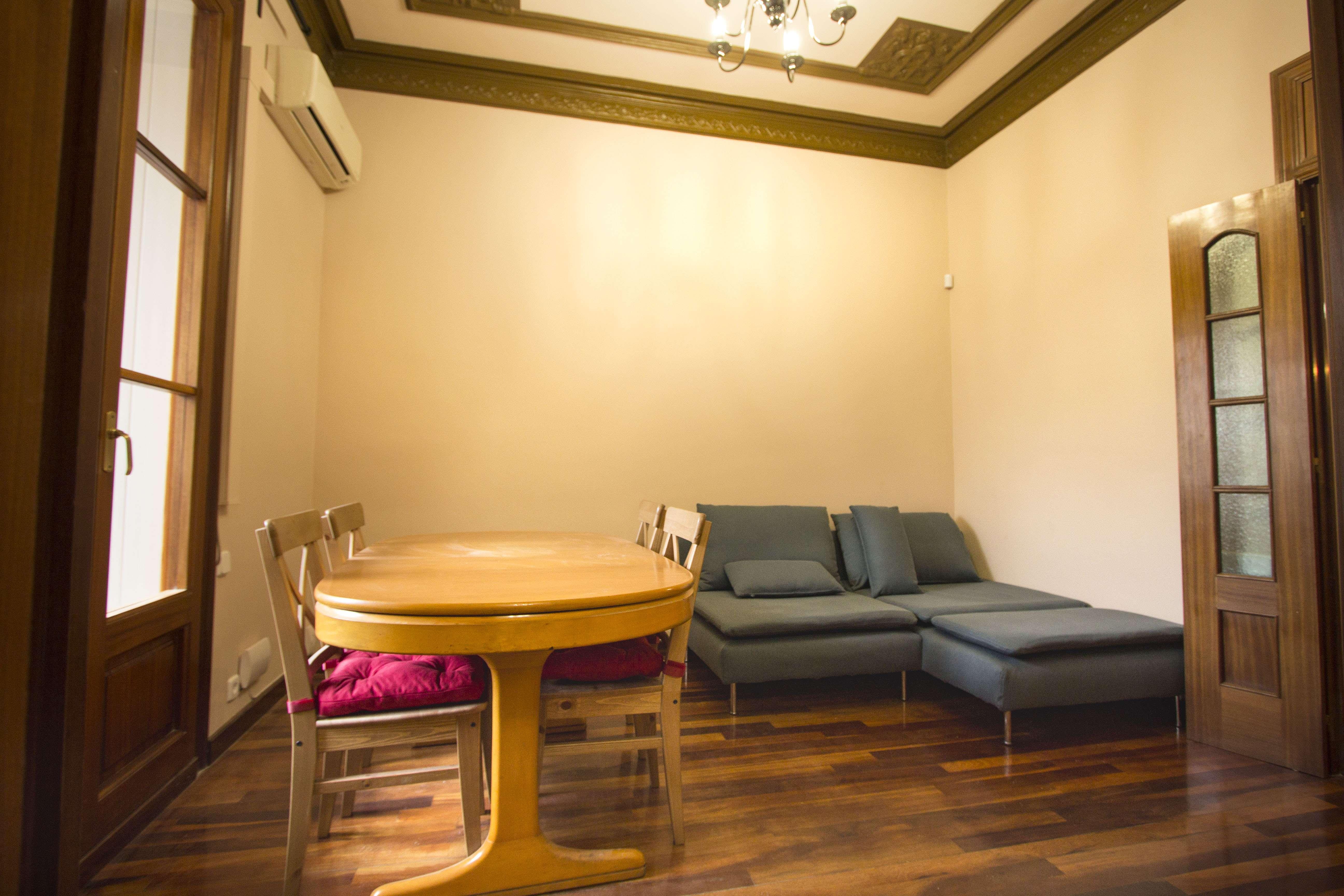 Квартира в 5 минутах от Пассео де Грасия