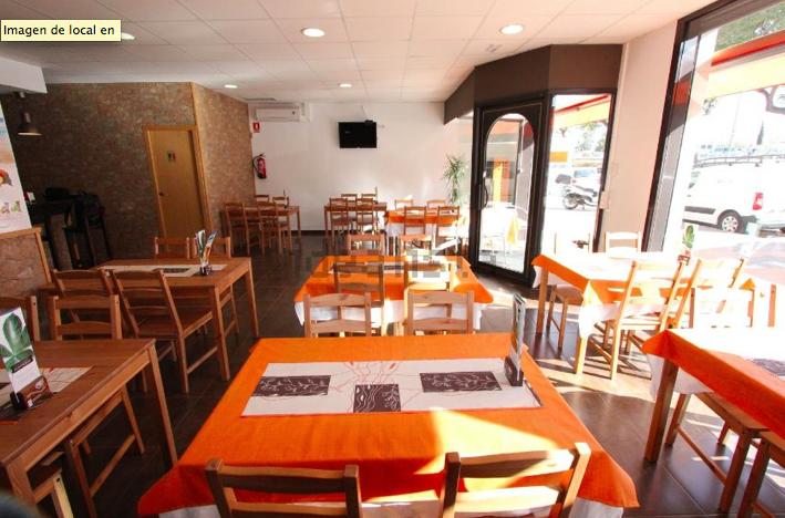 Ресторан в центре Кастельдефельса